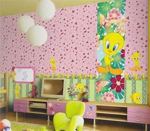 wonderland tapete kinderzimmer tapeten 318011 blumen grun With balkon teppich mit tapeten und bordüren