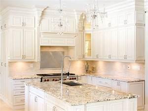 white kitchen cabinets with granite countertops benefits With what countertops go with white cabinets
