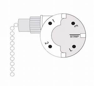 Kte Ceiling Fan Switch 3089