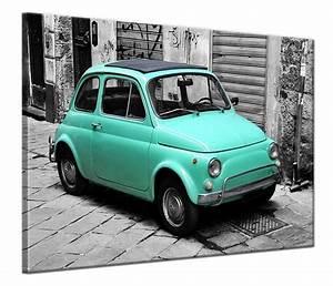 Fiat 500 Ancienne Italie : schilderij fiat 500 op canvas kopen canvas fotokunst ~ Medecine-chirurgie-esthetiques.com Avis de Voitures