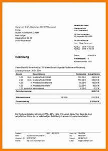 Rechnung Mit Mehrwertsteuer Muster : 7 vorlage rechnung mit mwst the natural curriculum ~ Themetempest.com Abrechnung
