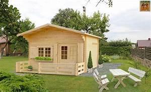Chalet En Bois Habitable Livré Monté : kit chalet bois sans permis de construire 20 m2 avec mezzanine ~ Dailycaller-alerts.com Idées de Décoration