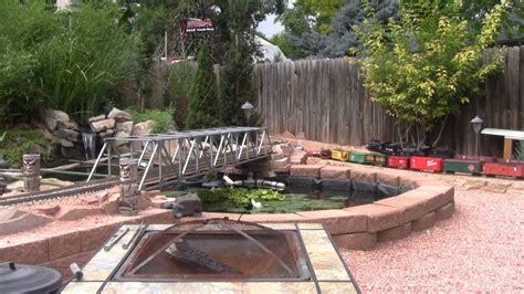 red rocks route railroad garden railway  youtube