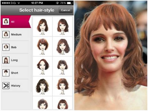 top  hairstyle apps  iphone  android female