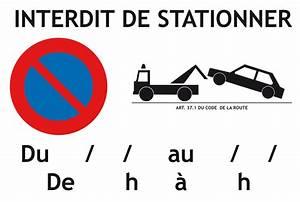 Mise En Fourrière : panneau de stationner imprimer gratuit latest panneau de chantier genant w with panneau de ~ Gottalentnigeria.com Avis de Voitures