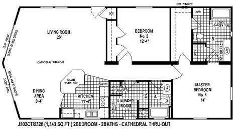 mobile homes wide floor plan 10 great manufactured home floor plans