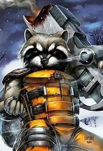 Rocket Raccoon fan art | Guardians of the Galaxy (movie ...