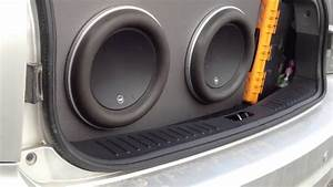 Subwoofer Videos  Jl Audio 12w7 On Rockford Fosgate Power