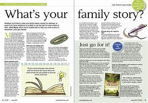 How To Write A Story About Your Family Familyscopes