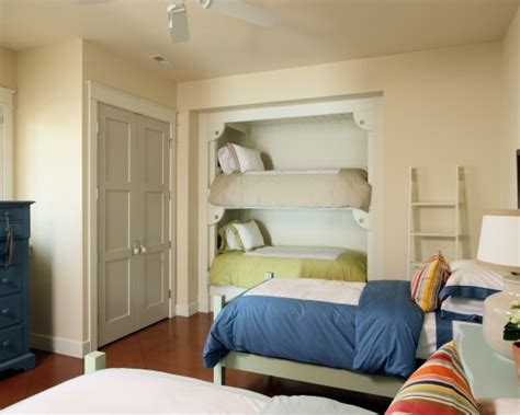 closet turned into bunk beds design idea s