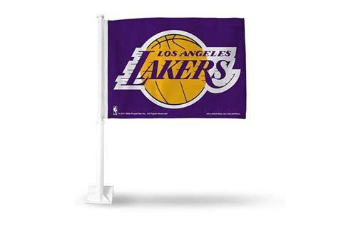 Los Angeles Lakers Flag Car Style Purple | Los angeles ...