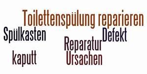 Wc Spülkasten Reparieren : eine defekte toilettensp lung reparieren und ~ Michelbontemps.com Haus und Dekorationen