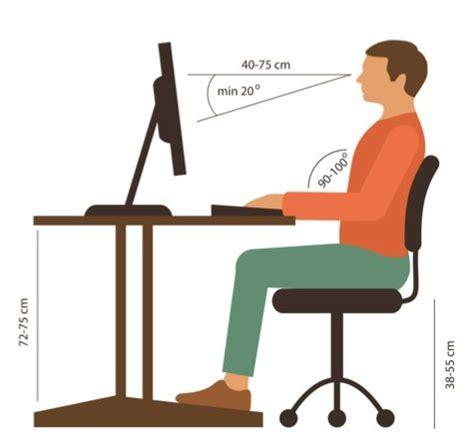 Postura Corretta In Ufficio Sedia Per Postura Corretta