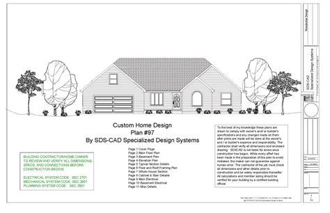 complete house plans construction blueprints autocad dwg