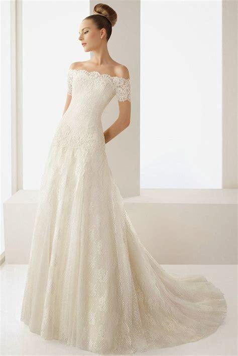 Wedding Blog Charming Off The Shoulder Wedding Dresses