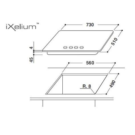 piano cottura ixelium whirlpool piano cottura linea fusion ixelium supreme