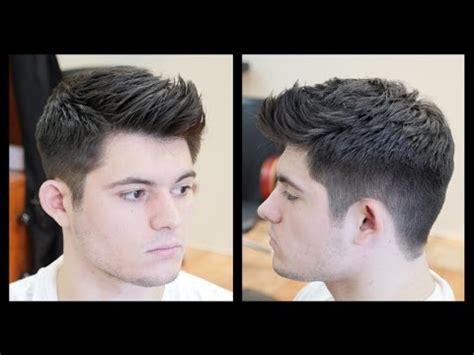 mens haircut tutorial fohawk haircut fade thesalonguy