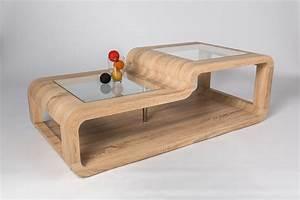 Table En Bois Design : table basse salon bois clair ~ Preciouscoupons.com Idées de Décoration