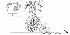 Honda Engines Gx100u Krbf Engine  Jpn  Vin  Gcagk