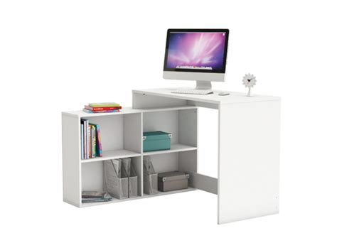 meuble bureau blanc bureau d 39 angle corner blanc