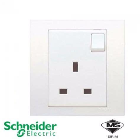 schneider kb vivace switched socket    gang