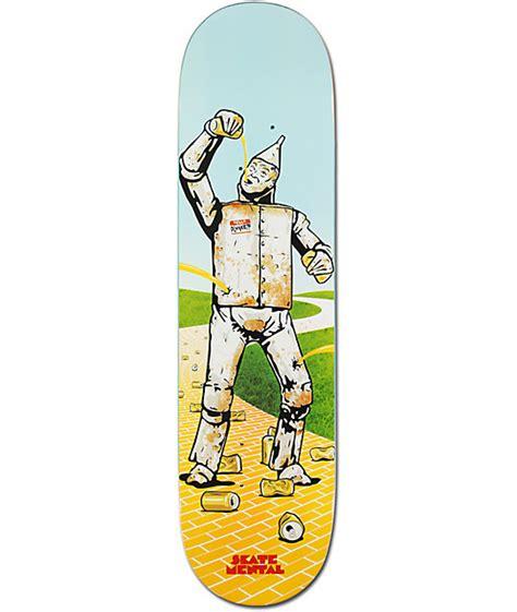 New Skate Mental Decks by Skate Mental Tin Dan Plunkett 8 125 Quot Skateboard Deck