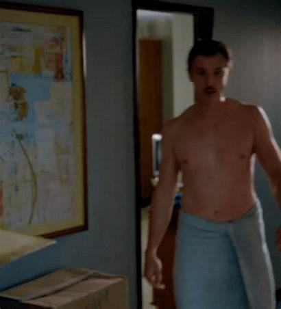 Towel Wearing Morning Plaid Pants Boyd Narcos
