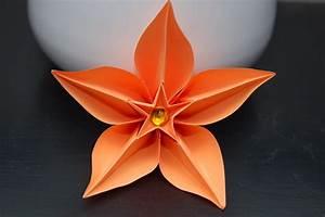 Fleur En Origami Facile : fleur en origami diy bouquet de fleurs en origami ~ Farleysfitness.com Idées de Décoration
