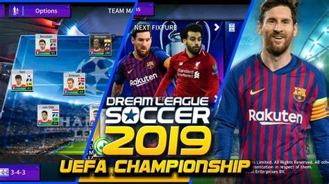 Game sepak bola manajer klub ini siap. Download Dream League Soccer 2019 Uefa Championship MOD ...