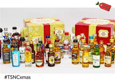 tsnc advent giveaway 12 days of christmas alcohol gift