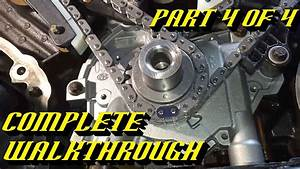 Ford 5 4l 3v Engine Timing Chain Kit Replacement Pt 4 Of 4