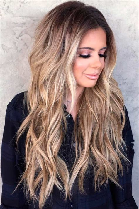 ways  style long haircuts  layers  ilove