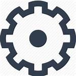Gear Wheel Icon Clipart Gears Brain Icons