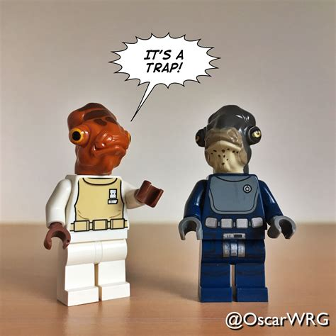 Lego Admiral Ackbar Itsatrap Admiral Raddus