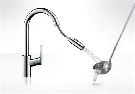 Hansgrohe Kitchen mixers: Focus, Single lever kitchen