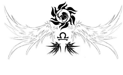 Tatouage Balance, Signe Astrologique De La Balance