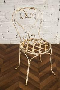 Chaise Fer Forgé : chaise jardin chaises fer forg ancienne vintage 1900 1920 ext rieur terrasse ~ Teatrodelosmanantiales.com Idées de Décoration