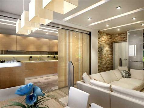 5 Ideas Of Zoning Kitchen And Living Room  Furnish Burnish