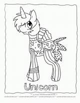 Unicorn Coloring Pages Colouring Printable Draw Crush Boys Popular Children Cartoon Library Coloringhome sketch template