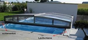 Poolüberdachung Ohne Schienen : pool berdachung ohne schienen schienenlose berdachung ~ Markanthonyermac.com Haus und Dekorationen