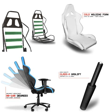 akracing arctica ultra premium white concept gaming chair with high backrest