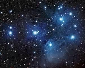 Pleiades Star Cluster by Dan Meek - SkyNews