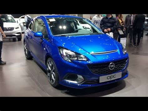opel corsa opc 2017 opel corsa opc 2017 in detail review walkaround interior exterior