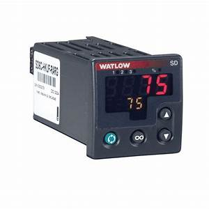 Sd Series Temperature Controller 1 16 Din Universal Input