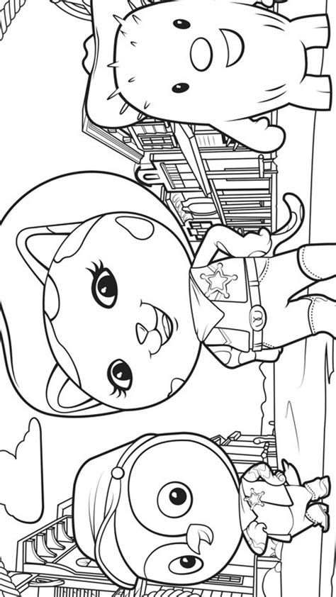 kids  funcom  coloring pages  sherrif callie