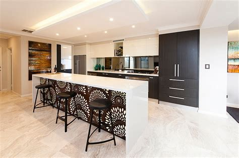 For a detailed look at kitchen island designs, countertop materials, dimensions, and additional features, check out our guide on buying a kitchen island. Kitchen Wallpaper Ideas - Wall Decor That Sticks