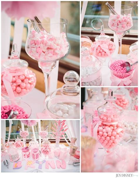 baby shower themes girl pink white baby shower baby girl candy bar party ideas