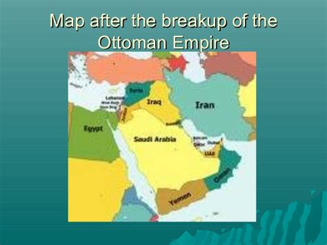 what happened to the ottoman empire after world war 1 ottoman empire
