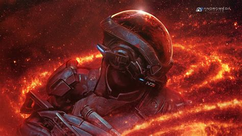 Mass Effect Wallpaper 4k Wallpaper Ryder N7 Mass Effect Andromeda Andromeda Initiative 4k Games 9619