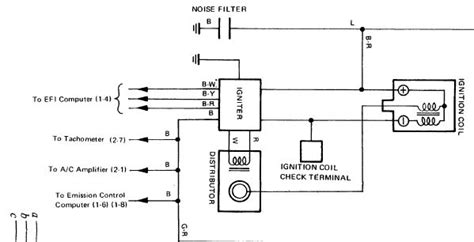 toyota igniter wiring diagram 29 wiring diagram images